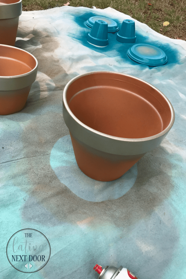 DIY Painted Terra cotta pots 3 DIY Painted Terra Cotta Pots
