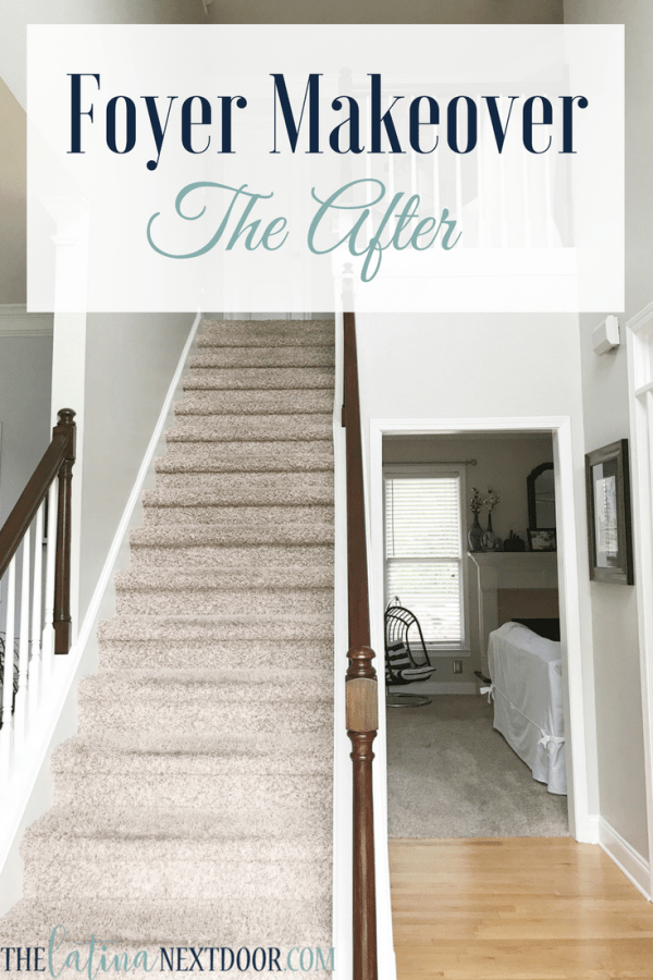 Foyer Makeover 18 Update Your Foyer To A More Elegant Space