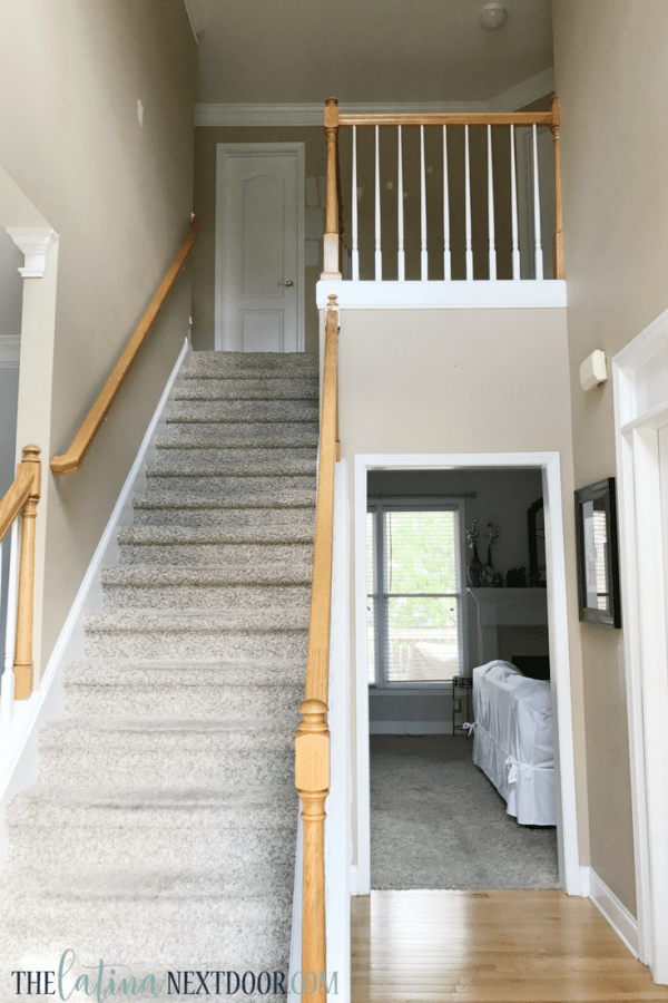 Foyer Makeover Before 1 Update Your Foyer To A More Elegant Space