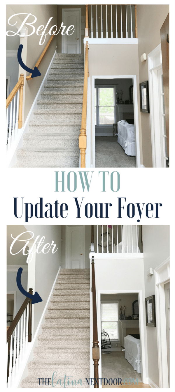 How to Update Your Foyer Update Your Foyer To A More Elegant Space