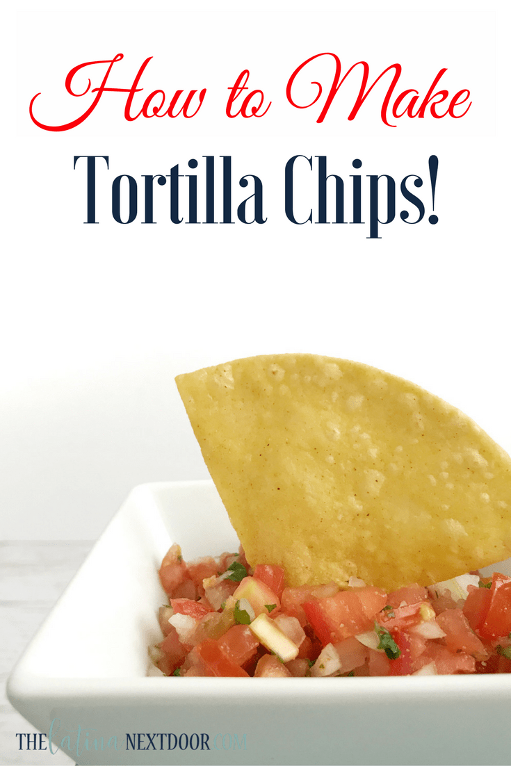 How to make tortilla chips How to Make Tortilla Chips