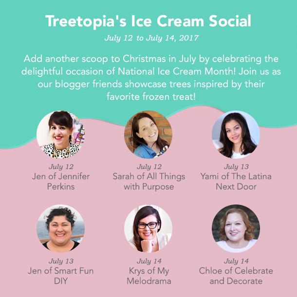 Ice Cream Social Camapaign Image Headshots Christmas in July Ice Cream Social Blog Hop