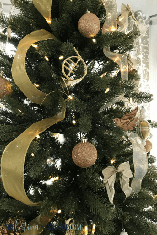 3 3 Simple Gold Christmas Tree