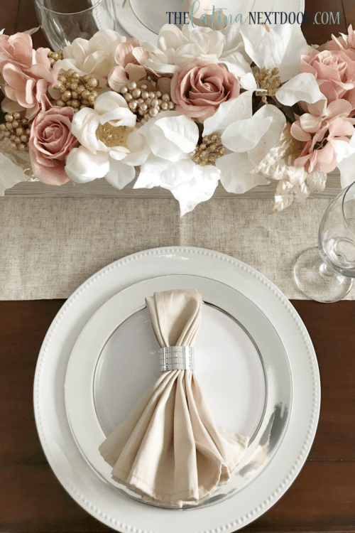 3 9 Rustic Glam Christmas Table Setting
