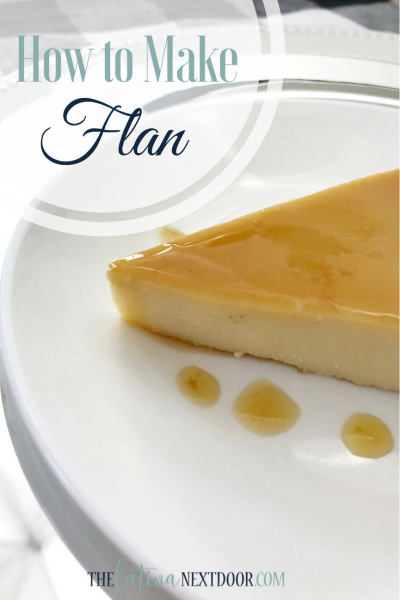 How to make flan