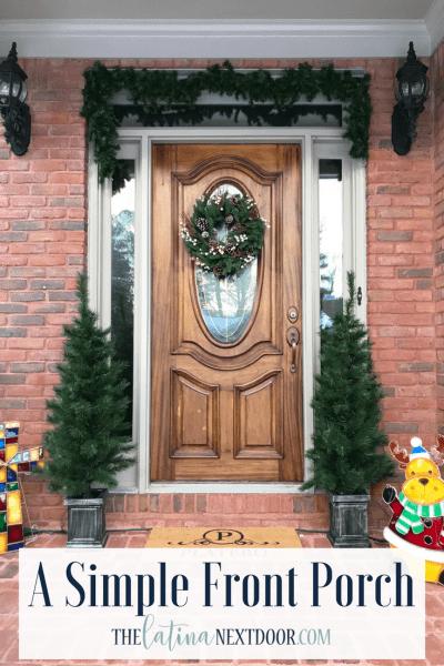 A Simple Front Porch