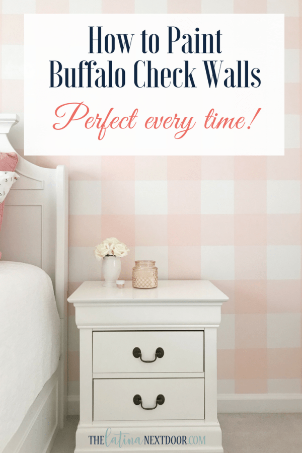 How to Paint Buffalo Checks Walls How to Paint a Buffalo Check Wall