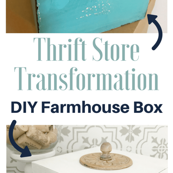Thrift Store Farmhouse Box Long Pin Thrift Store Farmhouse Box