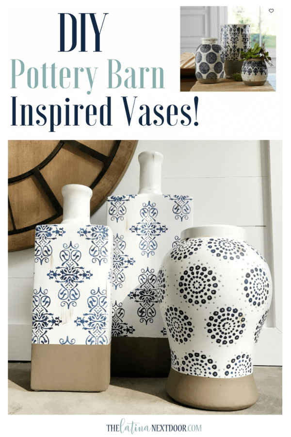 Pottery Barn Vases Pin DIY Pottery Barn Vases