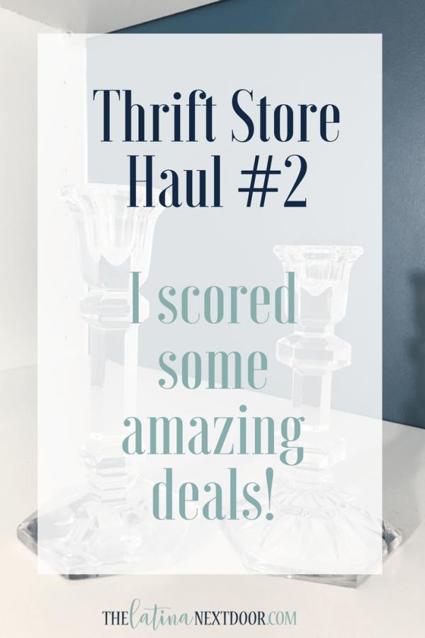 Thrift Store Haul 2 F Image Thrift Store Haul #2