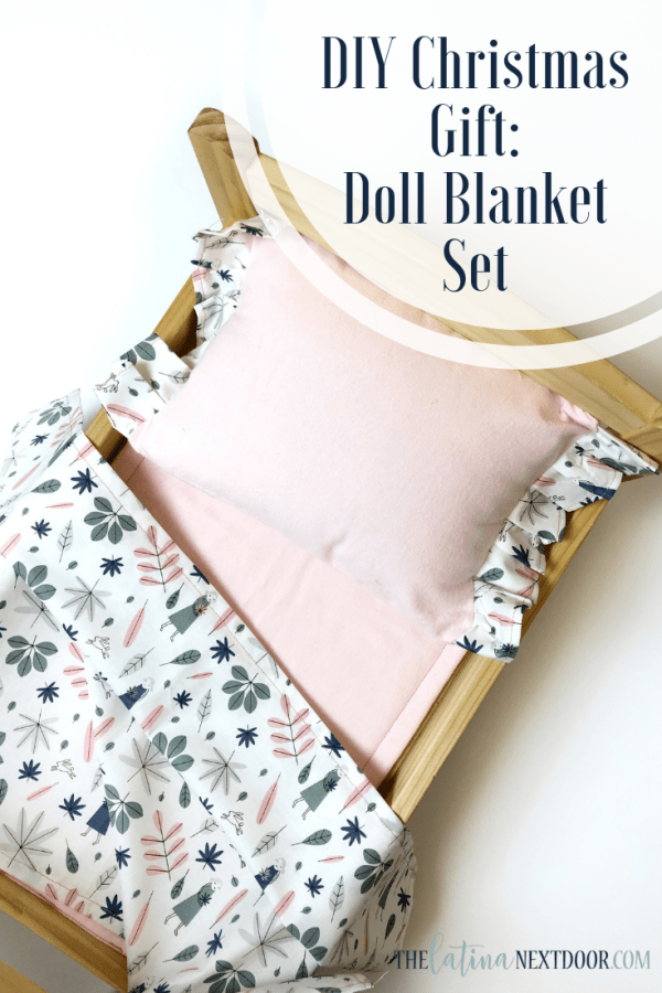 Doll Blanket Set Pin DIY Gift Idea   Doll Blanket Set
