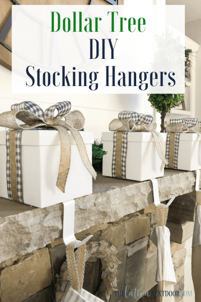 Dollar Tree DIY Stocking Hangers