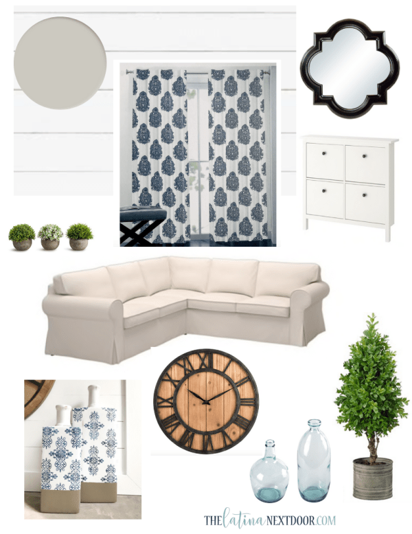 Great Room Transformation Vision Board BEFORE. png How to Make a Mood Board