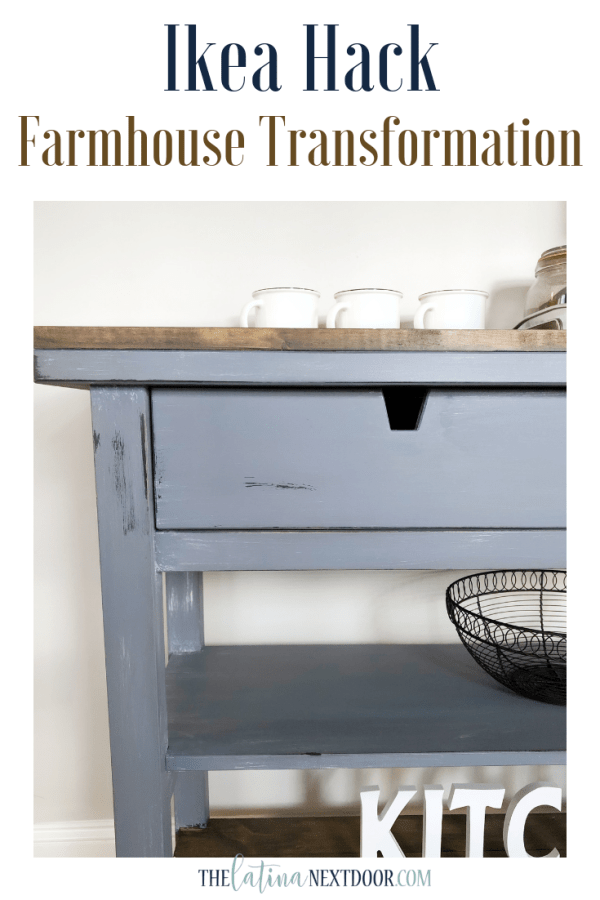 Ikea Hack Farmhouse Transformation IKEA Table Hack   Farmhouse Transformation