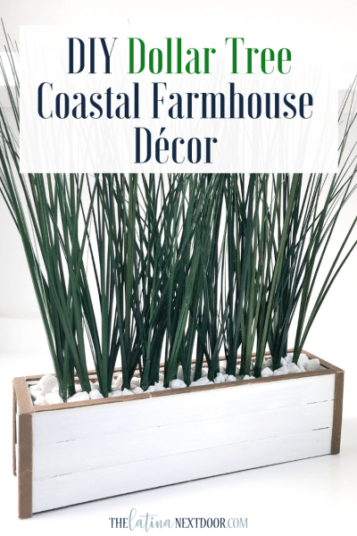 DIY Dollar Tree Coastal Farmhouse Decor