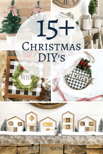 Over 15 Christmas DIY's