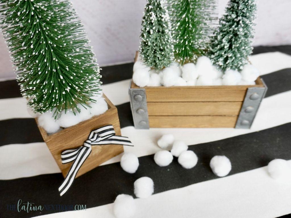 Dollar Tre Mini Christmas Tree Decor 2 Dollar Tree Mini Christmas Tree Decor