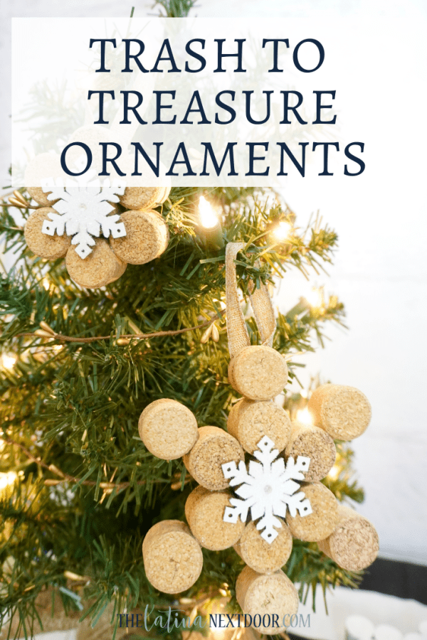 Trash to Treasure Cork Ornaments Trash to Treasure Cork Ornaments