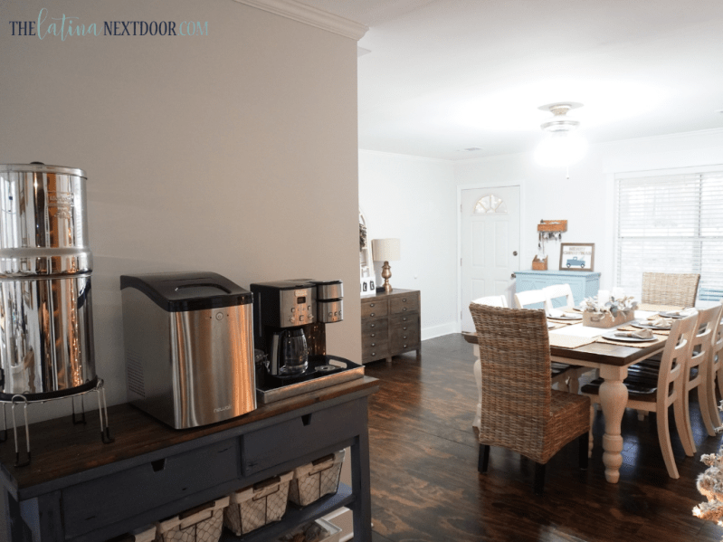Dining Before 3 Cottage Farmhouse Dining Room Reveal