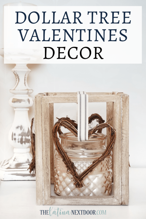 Dollar Tree Valetines Decor Dollar Tree Valentines Lantern