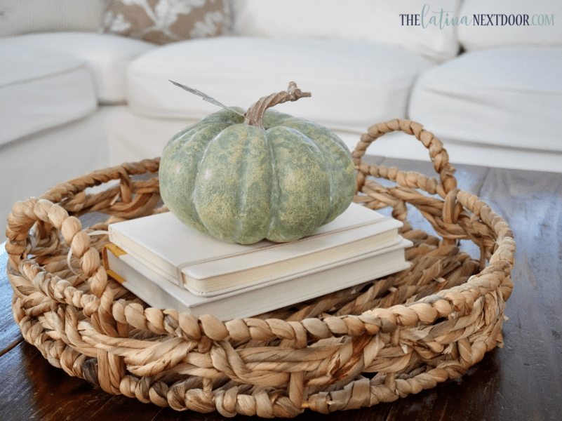 DECORATE FOR FALL 16 Decorating for Fall   Living Room