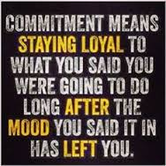 staying committed