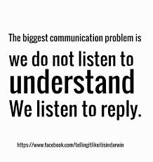 communication problem