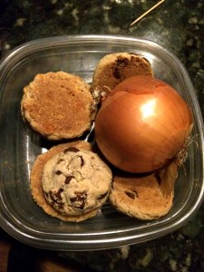cookies and onion