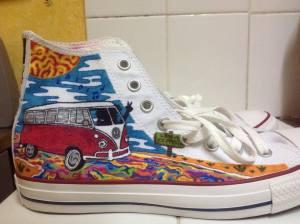 sydney swag hightop shoe
