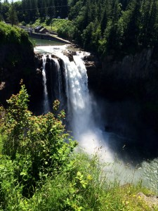 Snoqualmie Falls top
