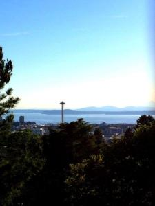 space needle from the water tower