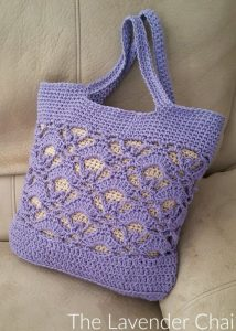 Gemstone Lace Market Bag - Free Crochet Pattern - The Lavender Chair