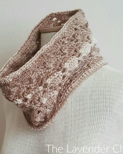 Vintage Cowl - Free Crochet Pattern - The Lavender Chair
