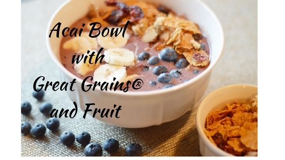Acai Bowl with Great Grains® and Fruit