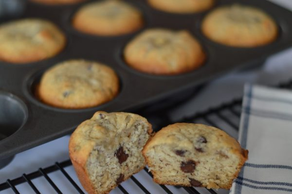 The Easiest 30 Minute Banana Muffins!