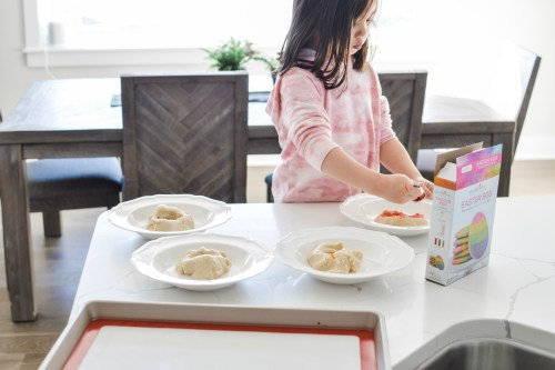 Cooking with Kids- Easter cookies