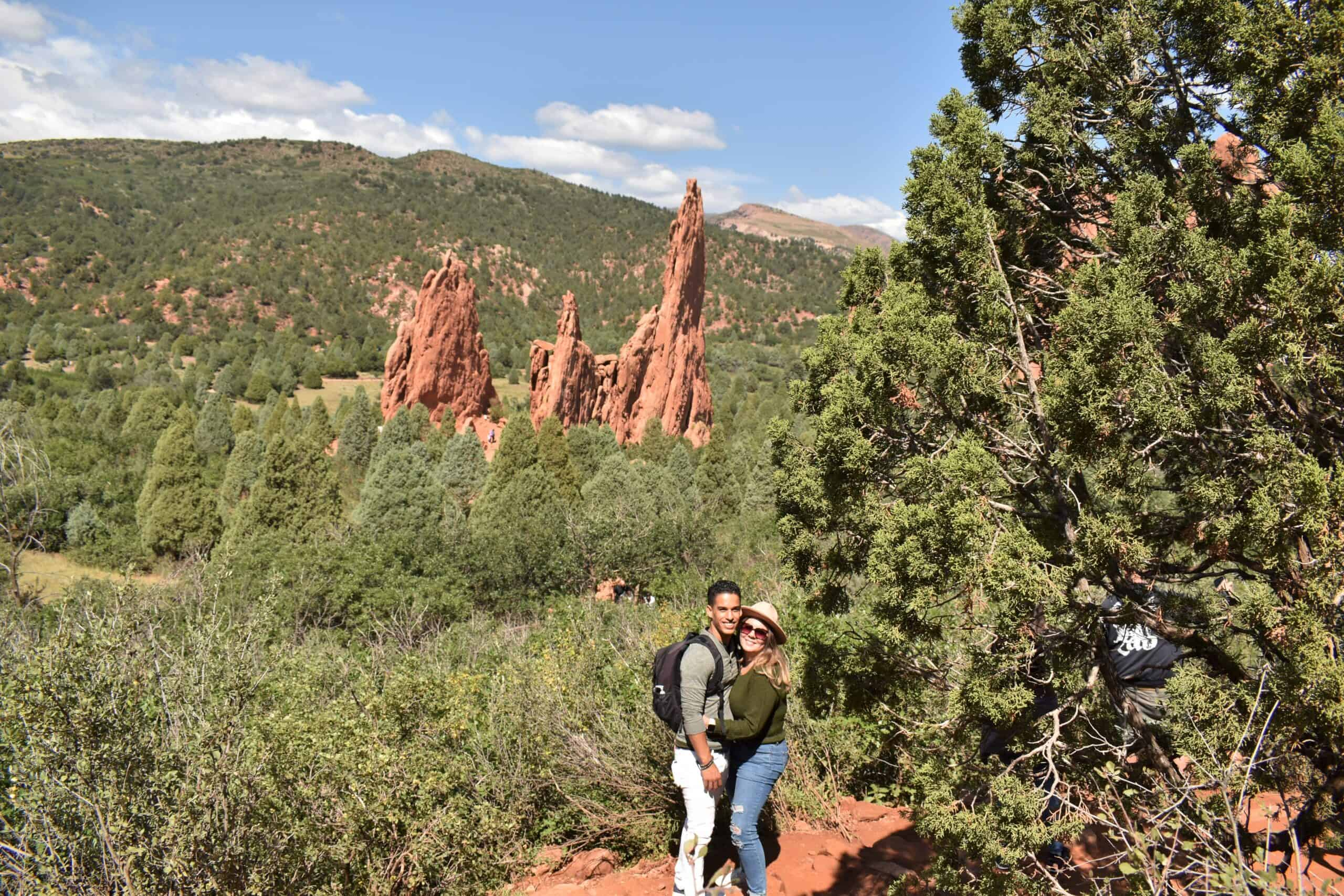 Hike in Garden of the Gods