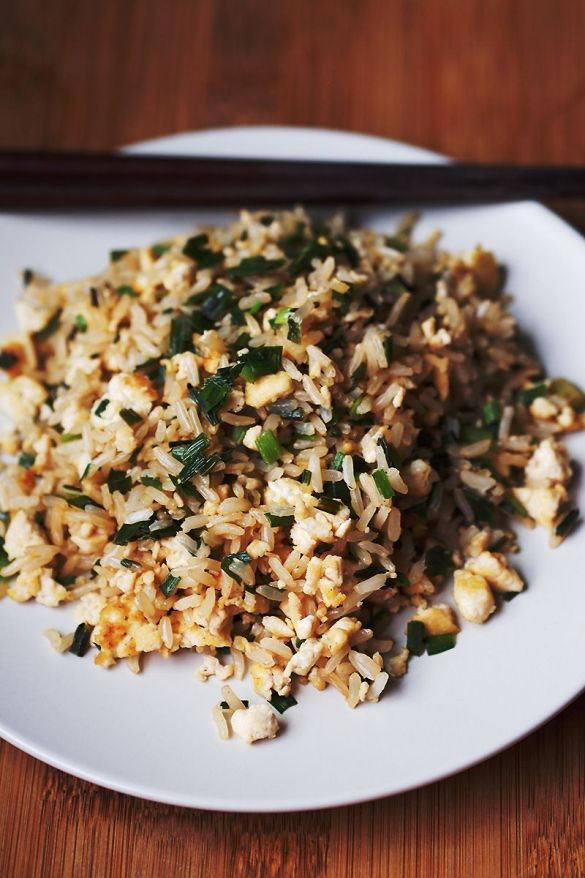 Easy Vegan Egg Fried Rice