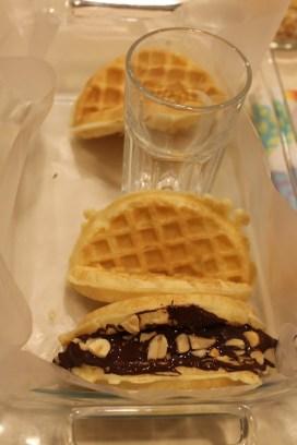 Chocolate Peanut Butter Banana Waffle Tacos | The Lazy Vegan Baker