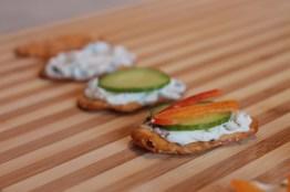 Veggie Pretzel Bites with Basil Cream Cheese | The Lazy Vegan Baker