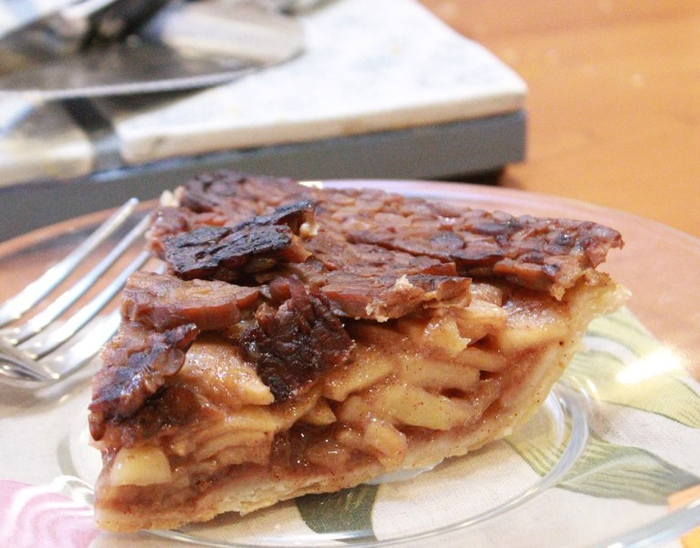 Bac*n Apple Pie | The Lazy Vegan Baker