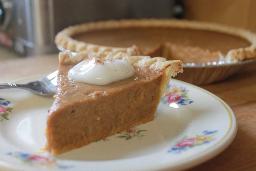 New England Pumpkin Pie | The Lazy Vegan Baker