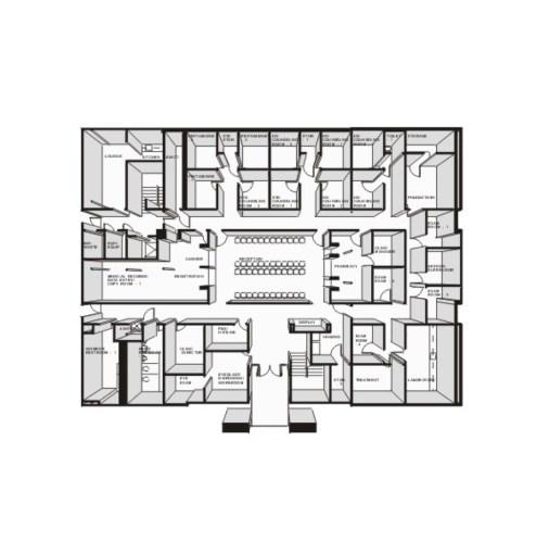Exploded Floor Plan