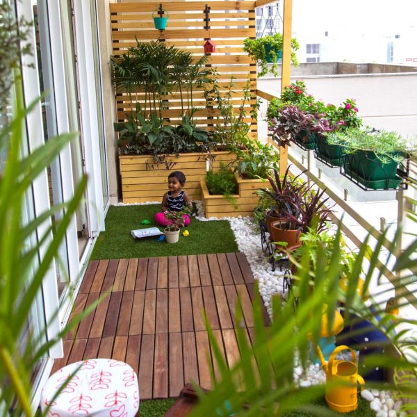Balcony Gardening Services In India The Leaf Landscape