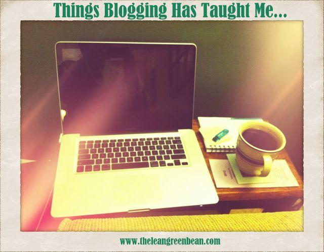 An honest, candid look at some of the lesson I've learned from being a blogger.