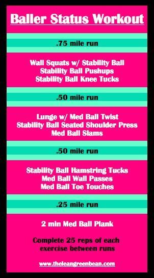 Baller Status Treadmill + Cardio Workout