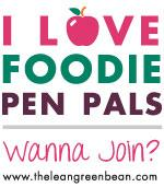blogbadgeAPPLE Foodie Penpals