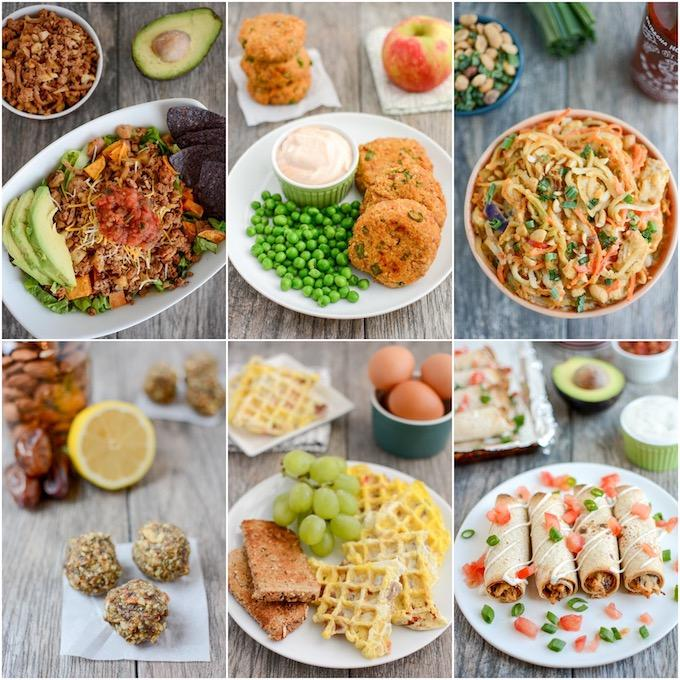 healthy lunch ideas for work