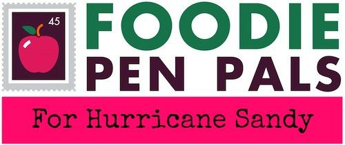 FPP sandy Mark Your Calendars: Foodie Penpals for Charity