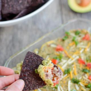 Hot Mexican Layer Dip